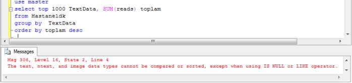 Msq 306 Sql Error